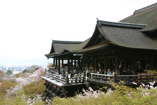 Japonija. Kioto. Kiyomizu šventykla