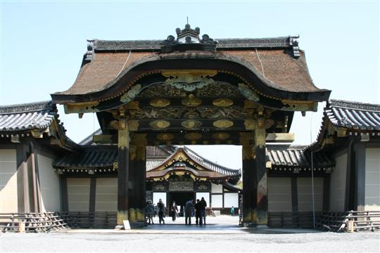 Japonija. Kioto. Nijo pilis