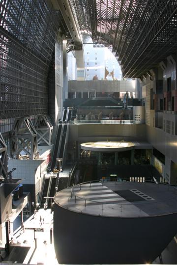 Japonija. Kioto. Traukinių stotis