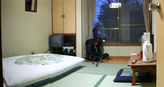 Japonija. Moto Hakone svečių namai