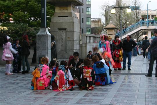 Japonija. Tokijas. Shinjuku rajonas