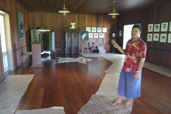 Samoa, Upolu Island, Robert Louis Stevenson museum / Samoja, Upolu Sala, R.Stivensno muziejus