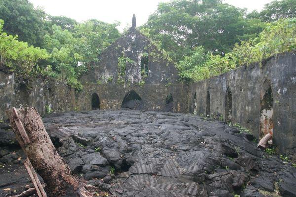 Samoa, Savaii Island, Sale'aula, LMS Church / Samoja, Savaii Sala, Sale'aula, LMS Bažnyčia