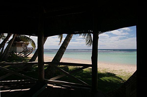 Samoa, Savaii Island, Manase, Janes Beach Fales / Samoja, Savaii Sala, Manase, Janes Beach Fales