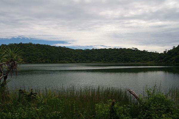 Samoa, Upolu Island, Lake Lanoto / Samoja, Upolu Sala, Lanoto ežero