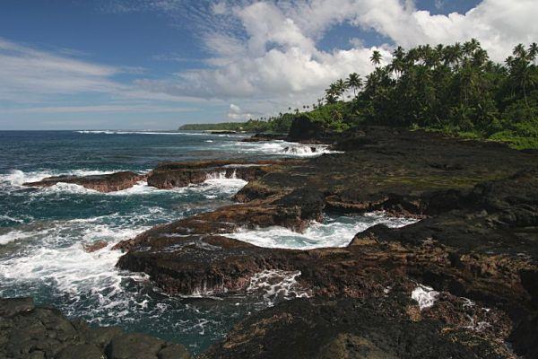 Samoa, Upolu Island, To Sua Ocean Trench / Samoja, Upolu Sala, To Sua Ocean Trench