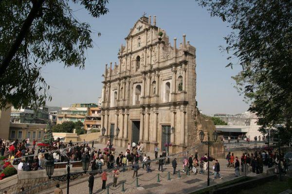 Šv. Pauliaus Katedros liekanos. Makao