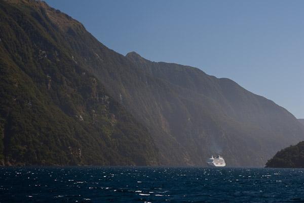 Kruizinis laivas Doubtful fiorde