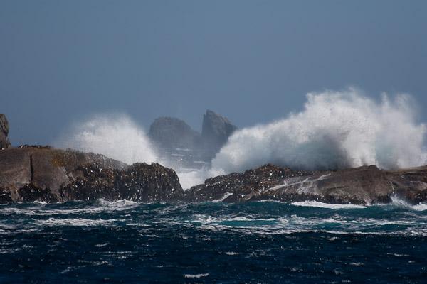 Doubtful fiordas pasitinka jūrą
