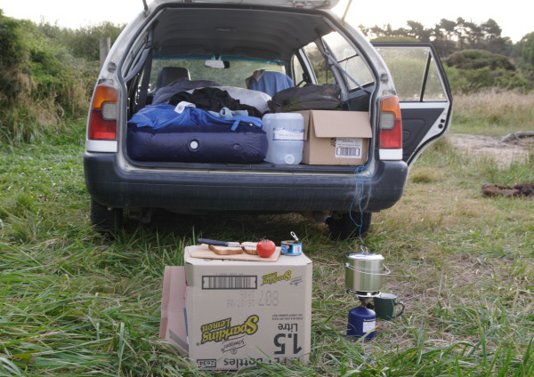 Naujoji Zelandija. Virtuvė ir miegamasis ant ratų