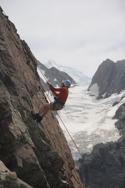 Caroline Hut, Introductory Climbing